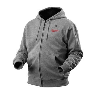 M12™ Cordless Gray Heated Hoodie Kit